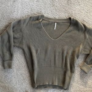 Free people ribbed sweater